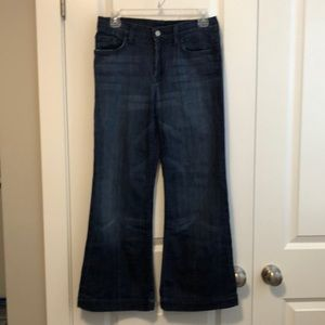 7 for all mankind wide legged Ginger size 26